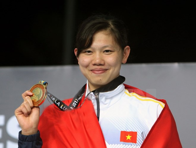 Swimmer Viên wins two golds