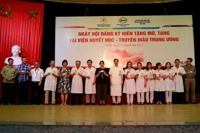 7400 people register to donate organs in Việt Nam