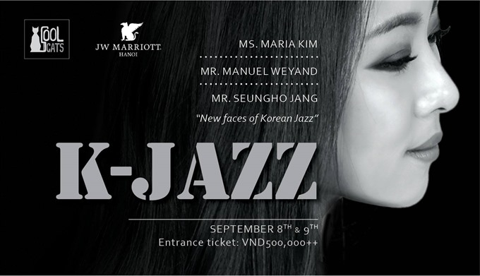 Seoul music at Cool Cats Jazz Club