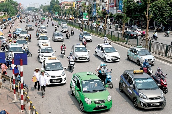 Hà Nội taxis to use common operating software