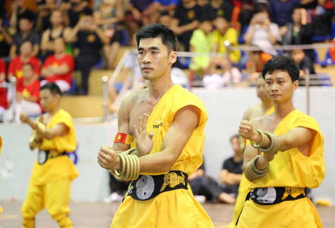 Traditional martial art festival celebrated in Hà Nội