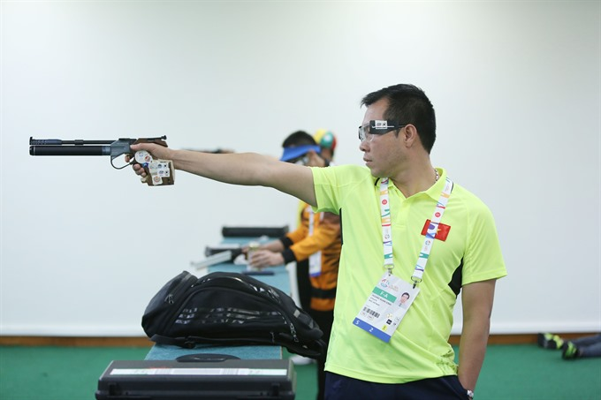Shooting sets modest goal at SEA Games