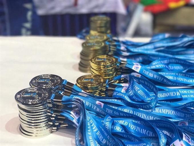 Việt Nam win world vovinam championship