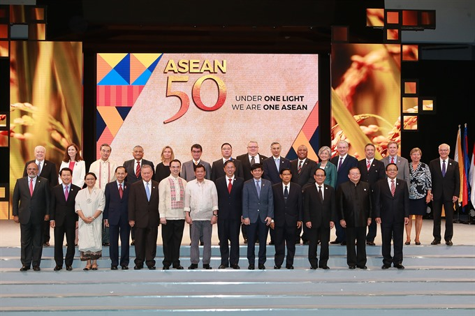 Philippines hosts grand celebration of ASEANs 50th founding anniversary