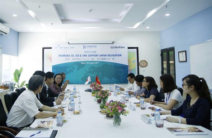 Japanese firms eye Vietnamese market