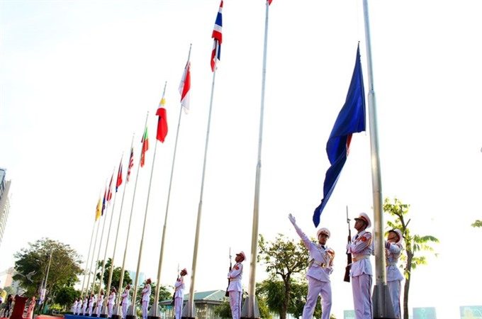 Major Vietnamese cities light up on Asean day