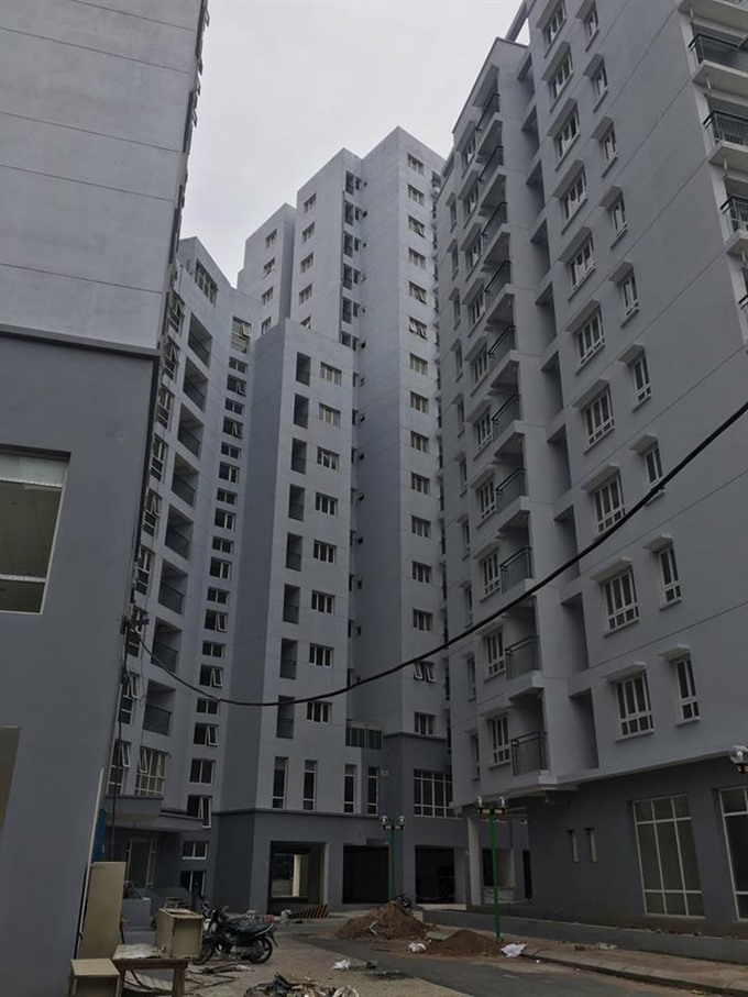 Social housing projects fail to attract tenants
