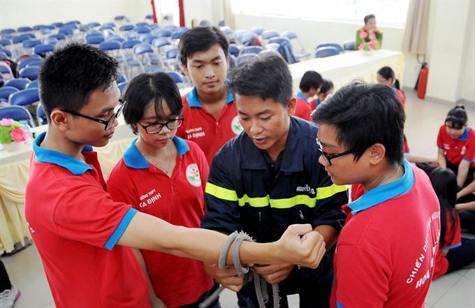 HCMC spends 49m on fire department