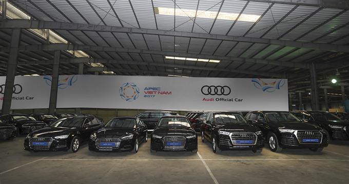 Audi Vietnam sends 258 units for APEC event