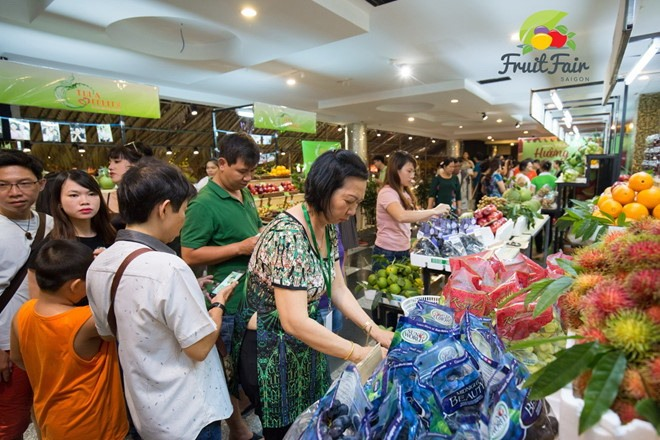 Youth flock to Sài Gòn Fruit Fair