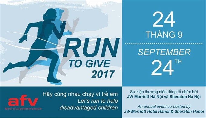 'Run to Give to support child in difficult areas