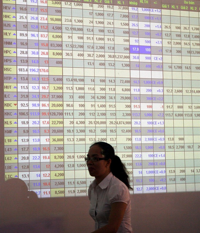 Banks cool but VN-Index hits new peak
