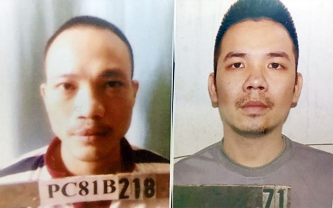 Two prisoners escape police release wanted notices