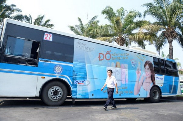 HCM City to open bidding for advertising on fare-subsidised buses