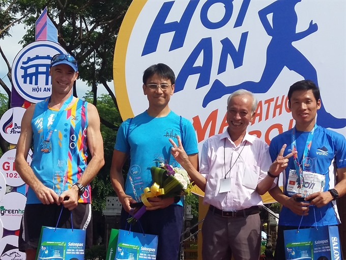 Japanese Thai win Hội An Intl marathon