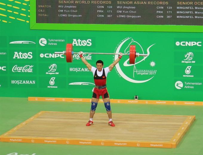 Tuấn wins Việt Nams first gold at AIMAG