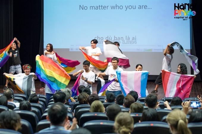 Sixth Hà Nội Pride largest yet