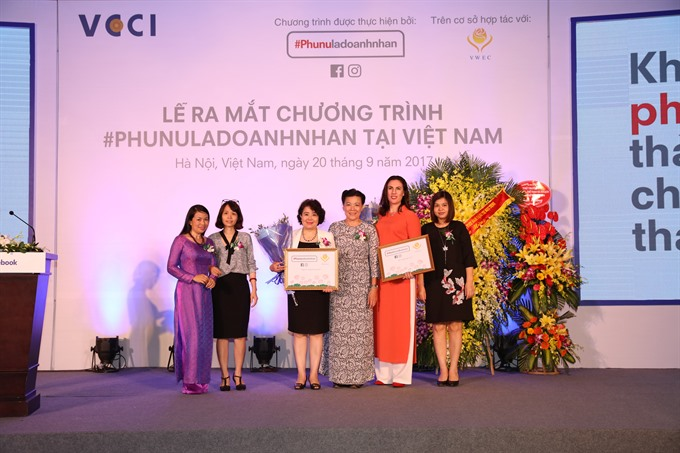 Initiative launched to empower women entrepreneurs in VN