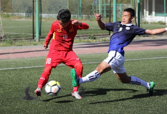U16 qualifier: VNs 10 men beat Cambodia 5-2