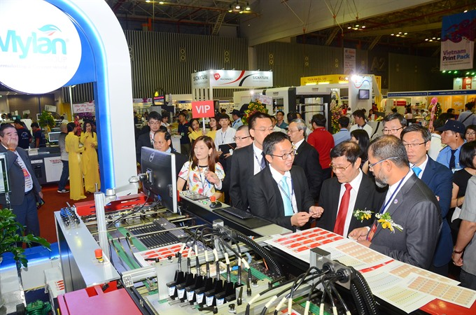 HCM City to host printing and packaging exhibition