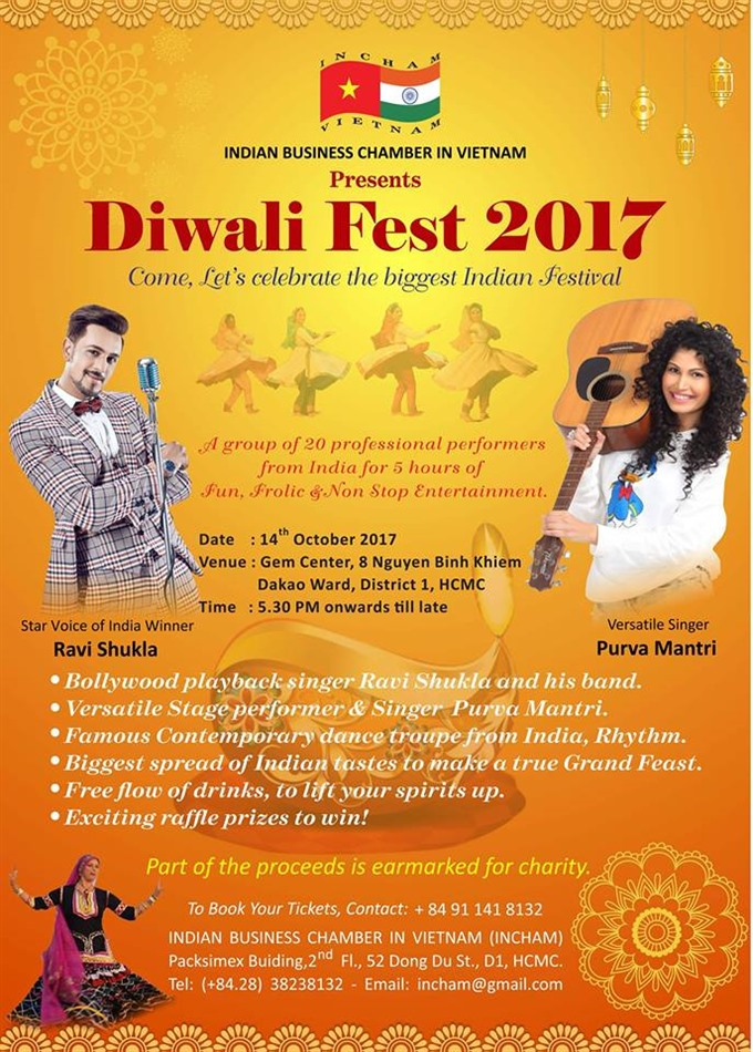 Diwali Fest to light up City