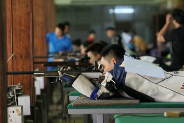 Hà Nội win national shooting cup