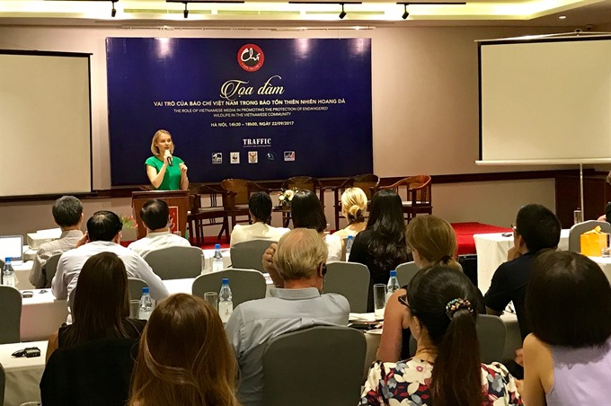 Vietnamese media lauded for role in wildlife protection