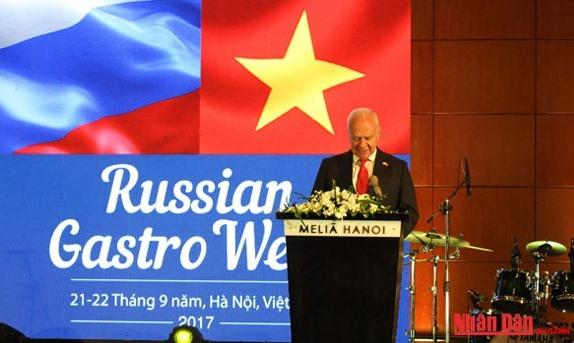Russian Gastro Week opens in Hà Nội