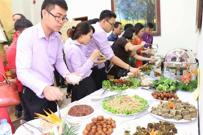 Veggie festival coming to Ha Noi