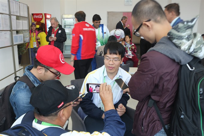 Liêm achieves Việt Nams gold target at AIMAG