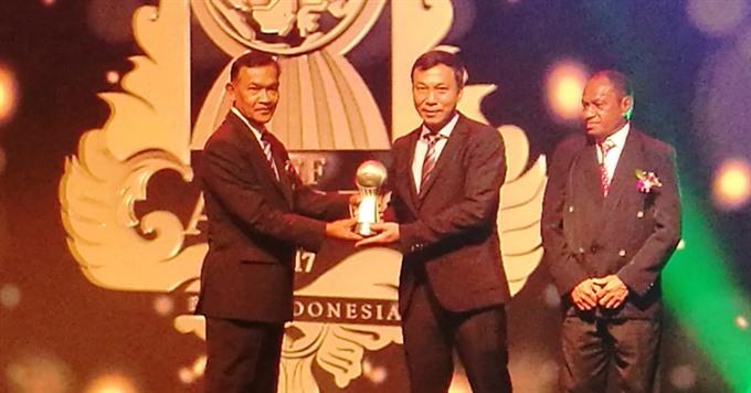 Việt Nam honoured at AFF Awards