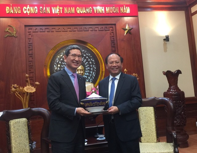 Opportunities to promote co-operation between HCM City and Korean partners
