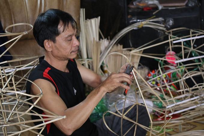 Handmade lanterns survive half century