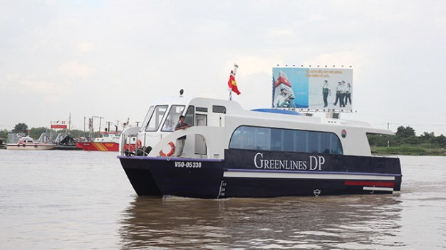 High-speed boat service available on HCM City – Cần Giờ - Vũng Tàu route