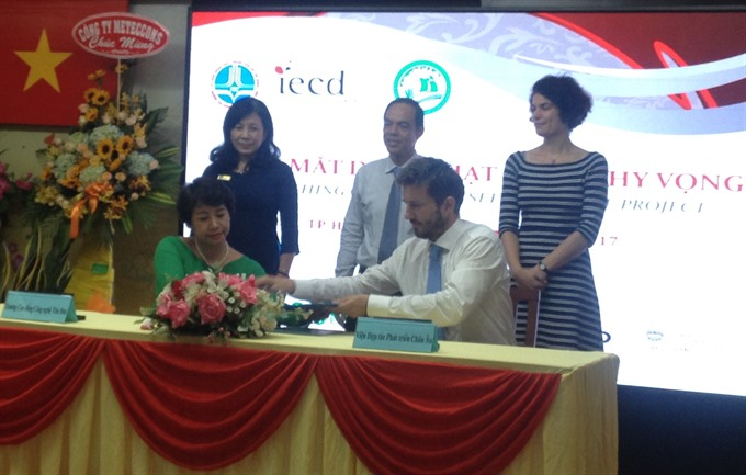 Seeds of Hope begins in HCM City