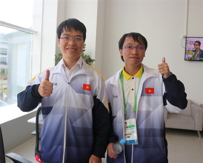 Liêm Sơn wins blitz event at AIMAG