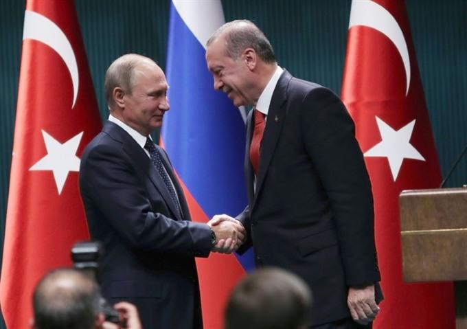 Erdogan Putin agree joint push to end Syria war
