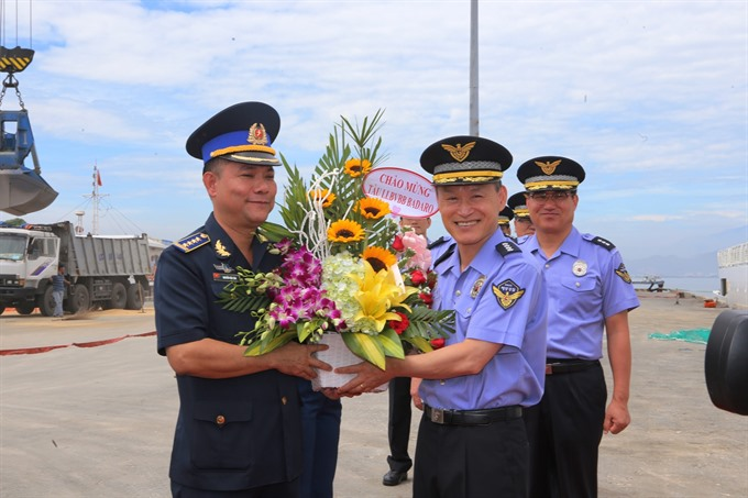 Korean Coast Guard visits Đà Nẵng