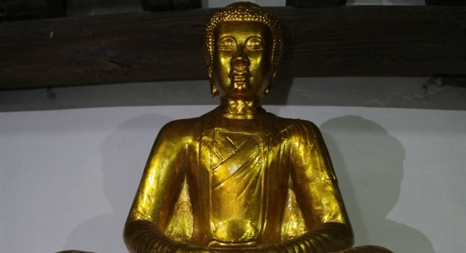 Statue recalls the glories of the Lý Dynasty
