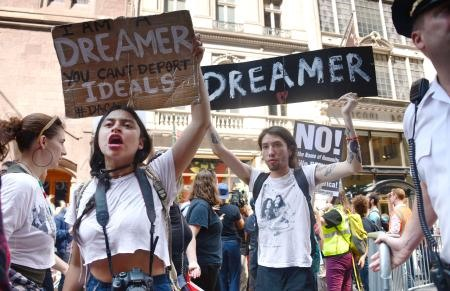 Anger as Trump ends amnesty for 800000 young immigrants
