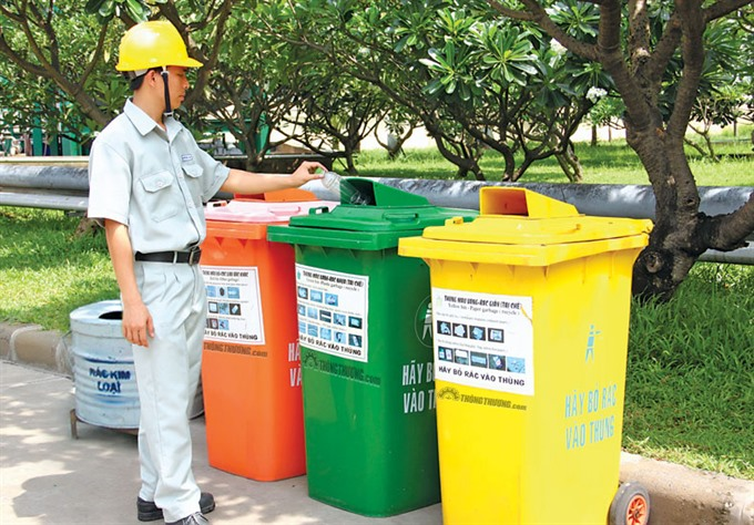 HCM City to fund sorting of rubbish