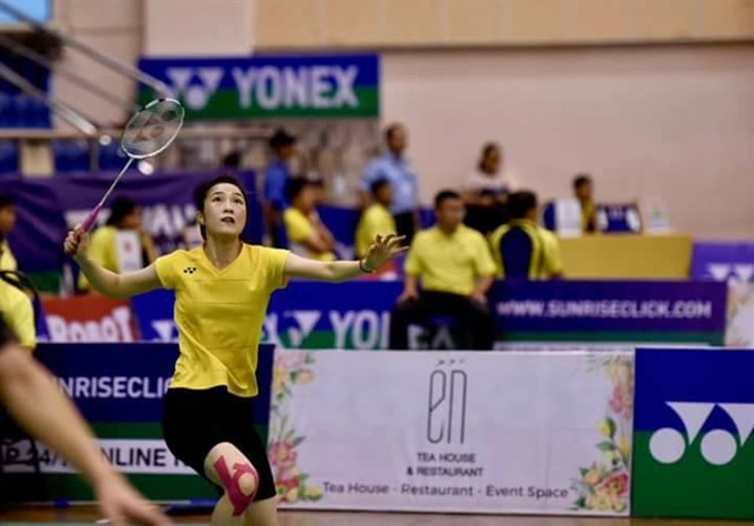 Trang advances to Việt Nam Opens quarters
