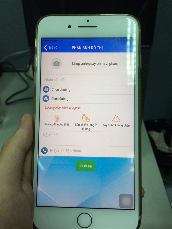 Public complaint app to be expanded HCM City-wide
