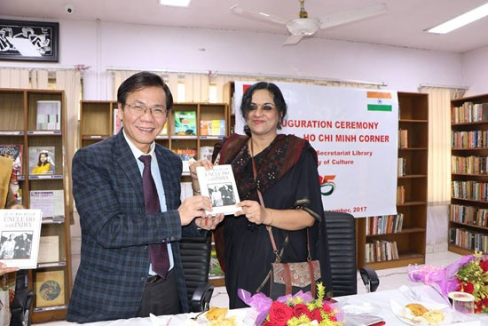 First Việt Nam-Hồ Chí Minh book room opened in India