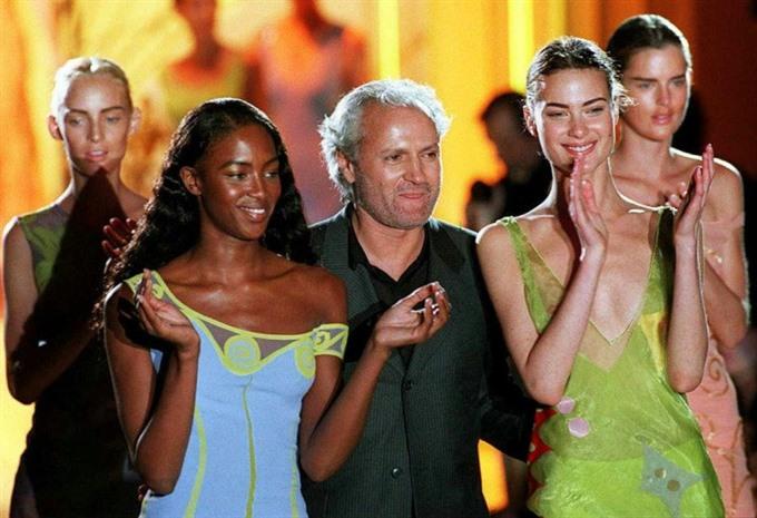 Versace family slam TV series on designers murder