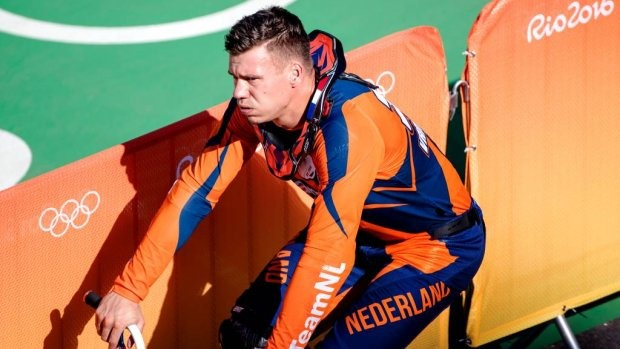 Dutch BMX Olympic silver medallist in coma