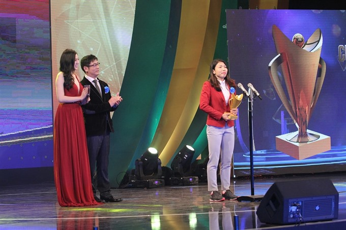 Thảo Tùng honoured as Athletes of the Year