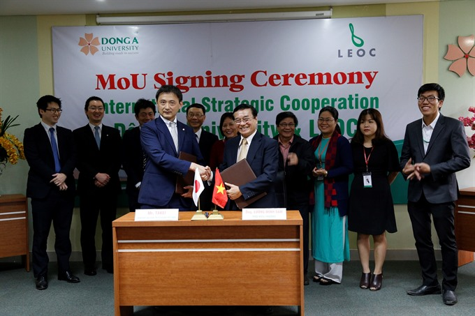 Training deal for Đà Nẵng college