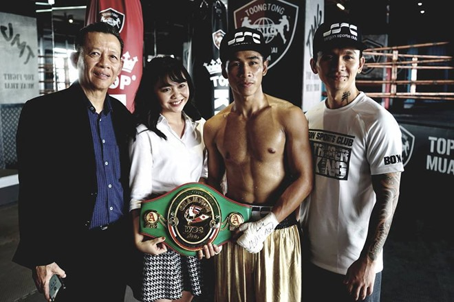 WBC champion Thảo to fight in Thailand