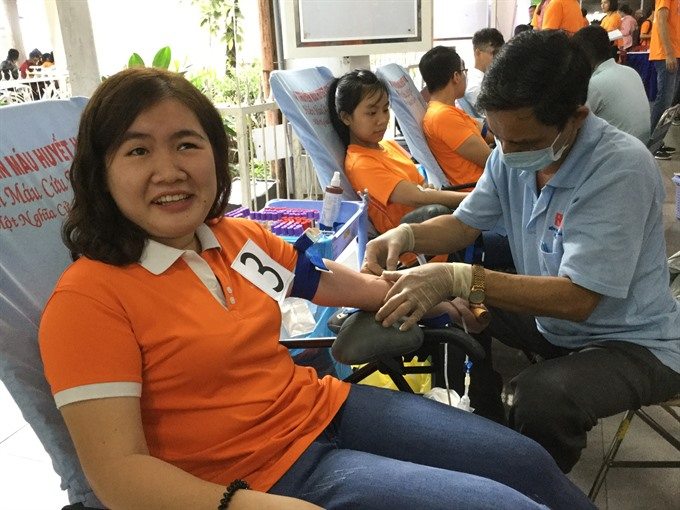 Health facilities call for blood donations for Tết